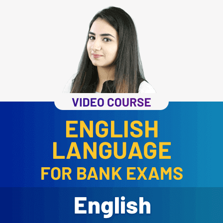 Video courses for English Language for Bank Exam