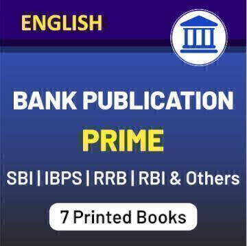 Get The Best Books For All-Round Preparation Of Bank Exams 2020- Bank Publication Prime_50.1