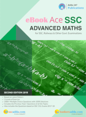 Advance Maths Book for SSC CGL CHSL CPO and Other Govt Exams