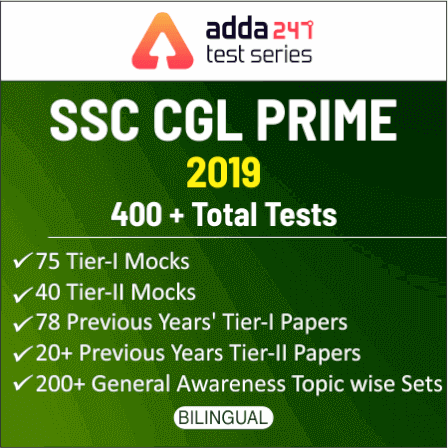 SSC Mock Test 2019 for CPO, CGL & CHSL | Best SSC Test Series