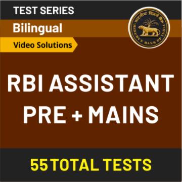 RBI Assistant Mock Test - Best RBI Assistant Test Series_50.1