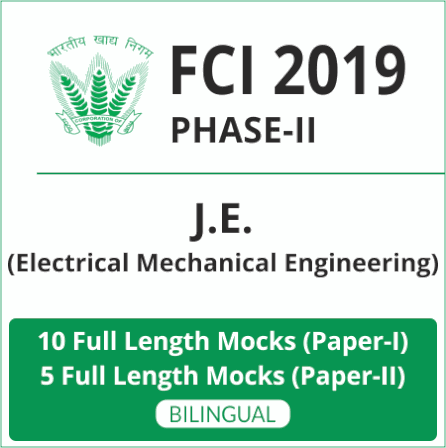 FCI Phase-II Test Series 2019 | Buy Now At Special Offer_100.1
