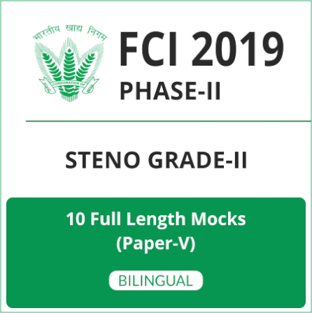 FCI Phase-II Test Series 2019 | Buy Now At Special Offer_140.1