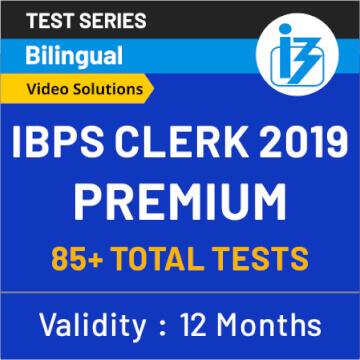 Mission IBPS Clerk 2019: Last 30 Days Study Plan_50.1
