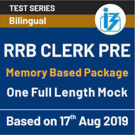 IBPS RRB Clerk Prelims 2019: Exam Analysis and Review Shift-1, 18th August 2019_50.1