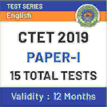 CTET Paper I Online Test Series