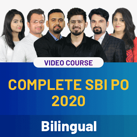 Video courses for Complete SBI PO