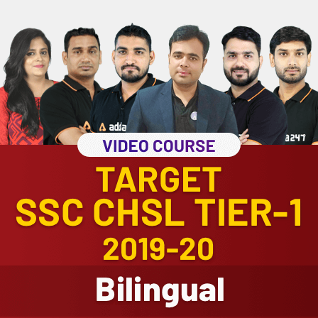 Video courses for Target SSC CGL