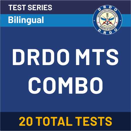 DRDO MTS Test Series