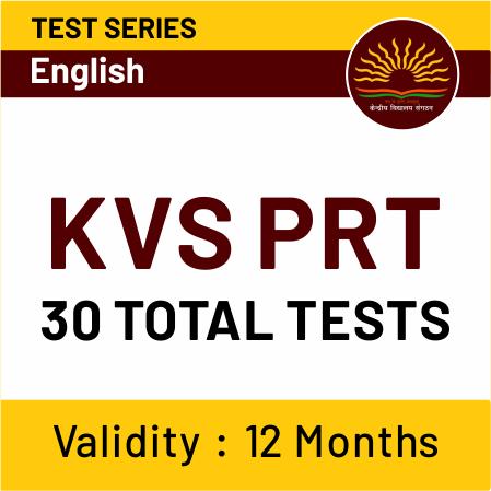 KVS Exam Pattern & Detailed Syllabus for PGT, TGT & PRT Exam_30.1
