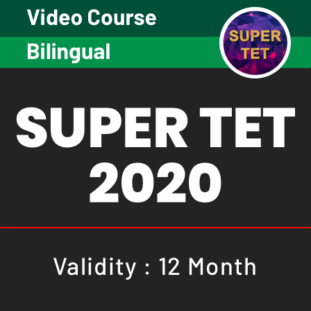 Video courses for TET 2020