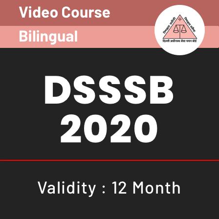 Video courses for DSSSB