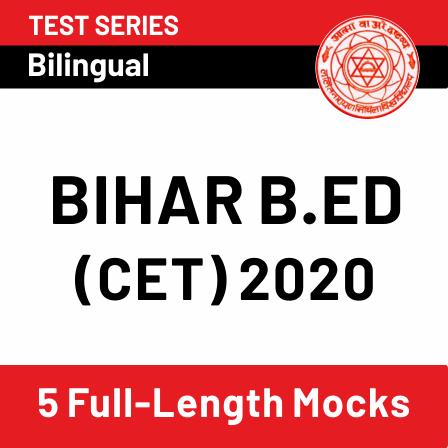 Bihar B.Ed 2020
