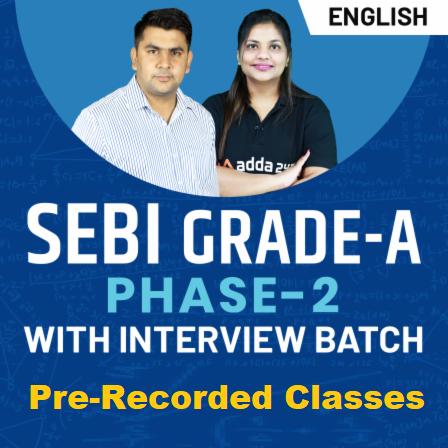 SEBI Grade A Cut Off 2021: Check Good Attempts and Expected Cut Offs For SEBI Grade A Phase 1Exam_50.1