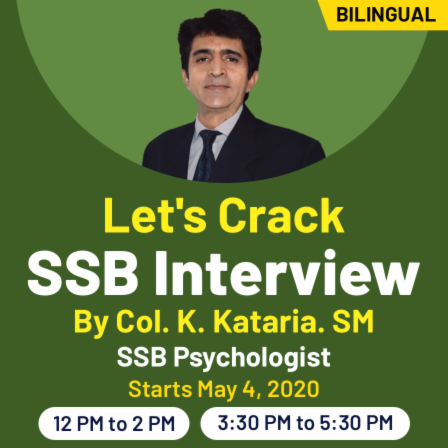 Get trained for SSB Interview by India's Best SSB Psychologist_50.1