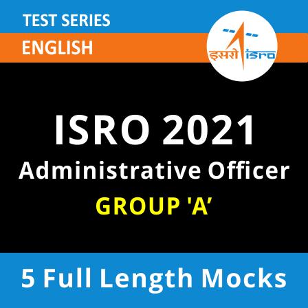 ISRO Administrative Officer 2021 Online Test Series_60.1