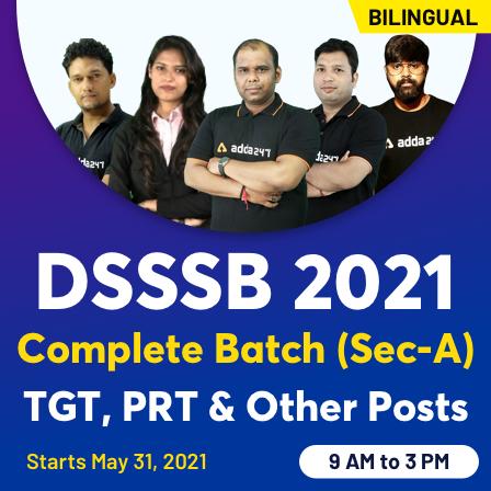 DSSSB PRT Teaching Aptitude & Study Material 2021