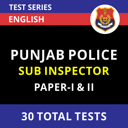 Punjab Police SI Recruitment 2021: Apply for 560 Sub-Inspector Posts, Notification Out PDF_50.1