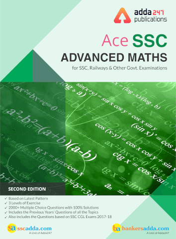 Ace Advance Maths For SSC and Other Govt Exams English Printed Edition