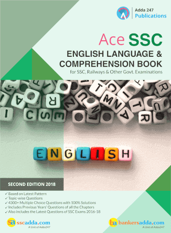 English Quiz Based On ADDA247 Book For SSC CGL And SSC CPO