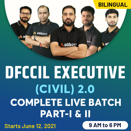 DFCCIL 2021 Civil Exam Analysis: Syllabus and Topic-wise Weightage |_60.1