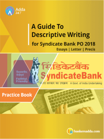 prepare you to tackle the questions asked in descriptive paper of syndicate bank po examination with poise you can get the descriptive writing ebook