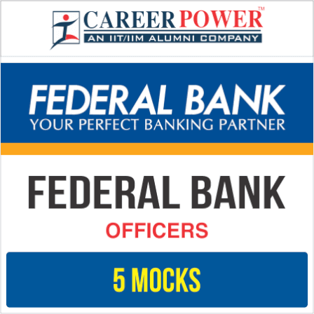 Federal Bank 'OFFICERS' Online Test Series