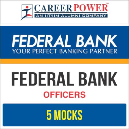 Federal Bank 'OFFICERS' Online Test Series