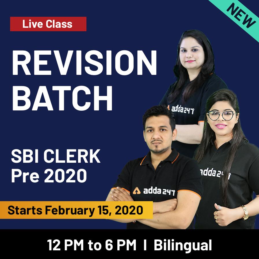SBI Clerk Prelims 2020 Revision Batch Bilingual Live Classes_60.1