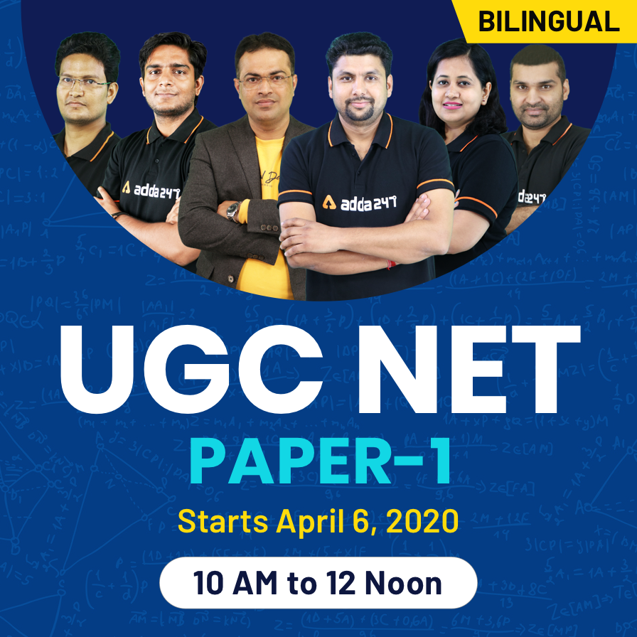 UGC NET June 2020: Notification Out, Apply Now_50.1