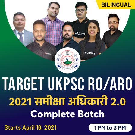 टारगेट UKPSC RO/ARO 2021 समीक्षा अधिकारी 2.0 Complete Batch_50.1